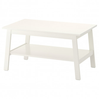 IKEA LUNNARP Masuta cafea, alb, 90x55 cm