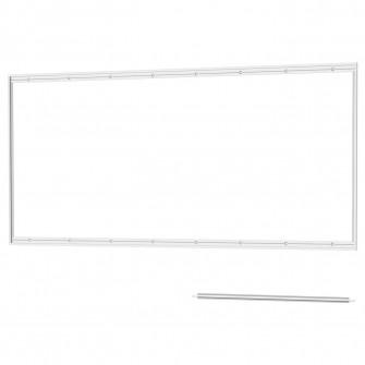 IKEA LYSEKIL Sina panou perete, aluminiu, 120 cm