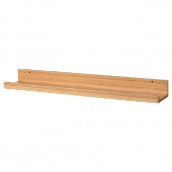 IKEA MALERAS Polita fotografii, bambus, 75 cm