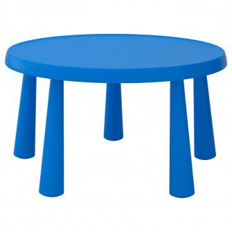 IKEA MAMMUT Masa pentru copii, interior/exterior albast