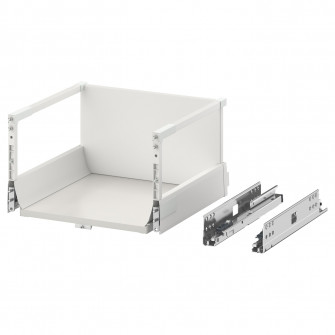IKEA MAXIMERA Sertar inalt, alb, 40x37 cm
