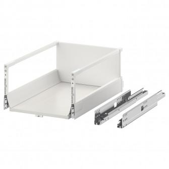 IKEA MAXIMERA Sertar inalt, alb, 40x60 cm