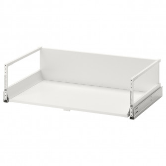 IKEA MAXIMERA Sertar inalt, alb, 80x45 cm