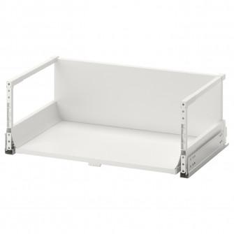 IKEA MAXIMERA Sertar inalt, alb, 60x37 cm