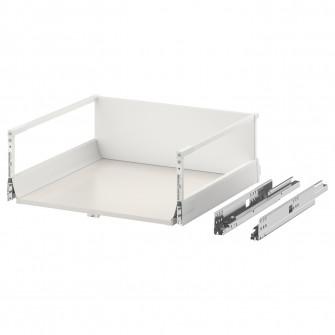 IKEA MAXIMERA Sertar inalt, alb, 60x60 cm