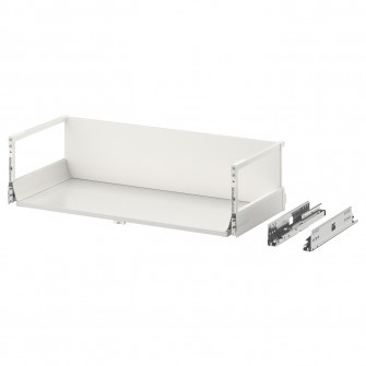 IKEA MAXIMERA Sertar inalt, alb, 80x37 cm