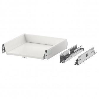 IKEA MAXIMERA Sertar, jos, alb, 40x37 cm