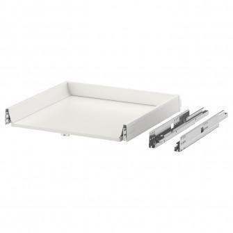 IKEA MAXIMERA Sertar, jos, alb, 60x60 cm