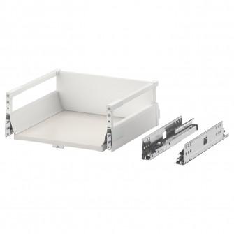 IKEA MAXIMERA Sertar mediu, alb, 40x37 cm
