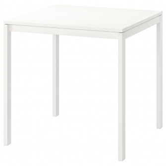 IKEA MELLTORP Masa, alb, 75x75 cm