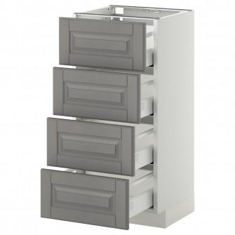 IKEA METOD / MAXIMERA Corp baza/4 fronturi/4 sertare -