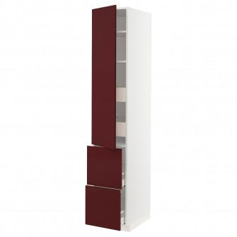 IKEA METOD / MAXIMERA Corp inalt+polite/4sertare/usi/2f