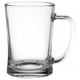 IKEA MJOD Halba bere, sticla transparenta, 60 cl