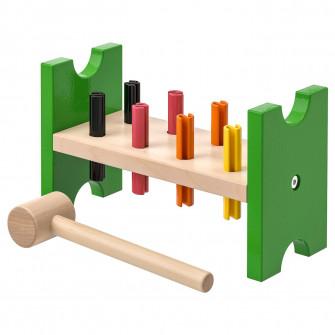 IKEA MULA Joc ciocan, multicolor