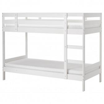 IKEA MYDAL Cadru pat supraetajat, alb, 90x200 cm