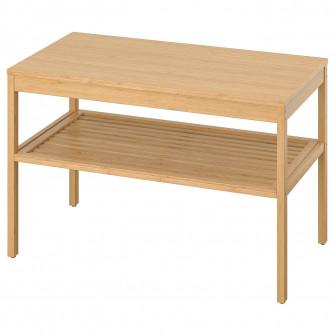 IKEA NORDKISA Banca, bambus, 80 cm