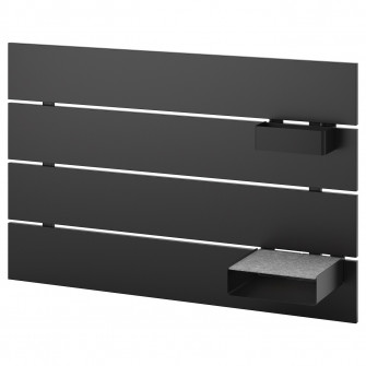 IKEA NORDLI Tablie, antracit, 90 cm