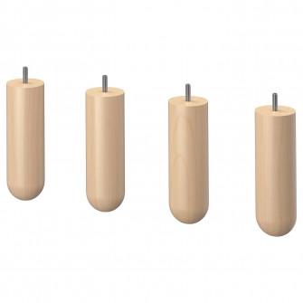 IKEA NORSBORG Picior, mesteacan