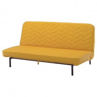 IKEA NYHAMN Canapea extensibila 3 locuri, saltea spuma,