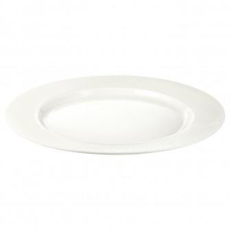 IKEA OFANTLIGT Farfurie, alb, 28 cm