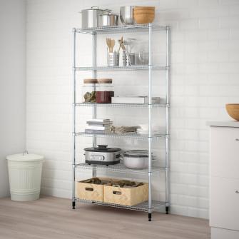 IKEA OMAR 1 sectiune polite, 92x36x181 cm