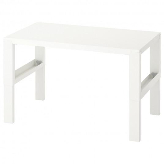 IKEA PAHL Birou, alb, 96x58 cm