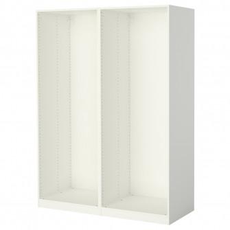 IKEA PAX 2 cadre dulap, alb, 150x58x201 cm