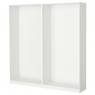 IKEA PAX 2 cadre dulap, alb, 200x35x201 cm