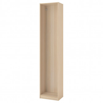 IKEA PAX Cadru dulap haine, aspect stejar antichizat, 5