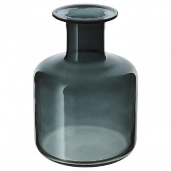 IKEA PEPPARKORN Vaza, gri, 17 cm