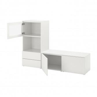 IKEA PLATSA Ansamblu depozitare, 180x42x121 cm