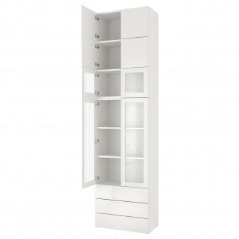 IKEA PLATSA Ansamblu depozitare, 80x42x301 cm