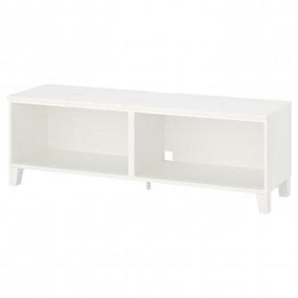 IKEA PLATSA Comoda TV, alb, lemn, 160x42x53 cm