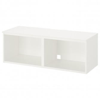IKEA PLATSA Comoda TV, alb, 120x42x42 cm