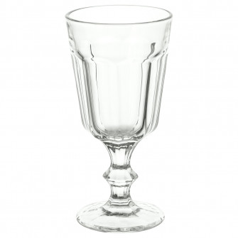 IKEA POKAL Pahar vin, sticla transparenta, 20 cl