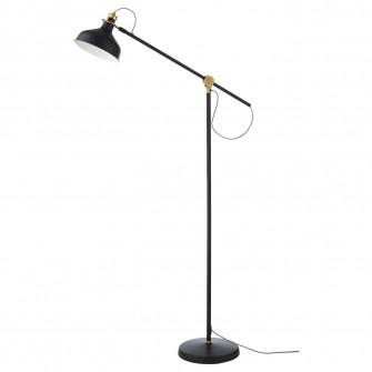 IKEA RANARP Lampa citit/lampadar, negru