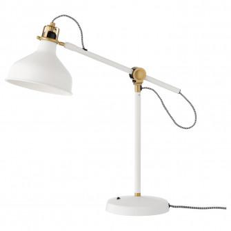IKEA RANARP Veioza birou, alb