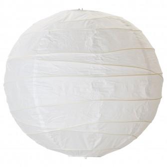 IKEA REGOLIT Abajur lustra, alb, 45 cm