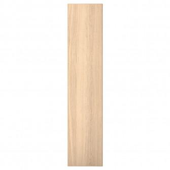 IKEA REPVAG Usa cu balamale, furnir stejar alb, 50x229