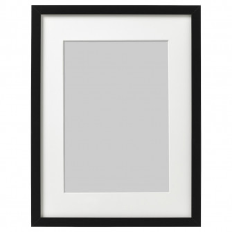 IKEA RIBBA Rama, negru, 30x40 cm