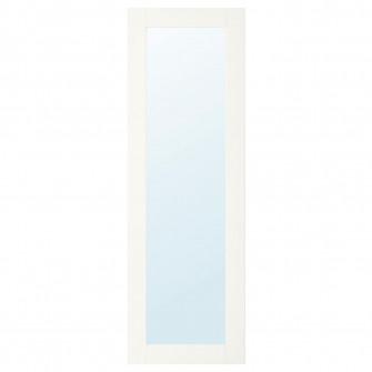 IKEA RIDABU Usa oglinda, alb, 40x120 cm