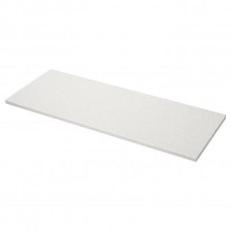IKEA SALJAN Blat, alb aptr, laminat, 186x3.8 cm