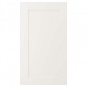 IKEA SAVEDAL Front masina spalat vase, alb, 45x80 cm
