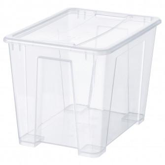 IKEA SAMLA cutie cu capac