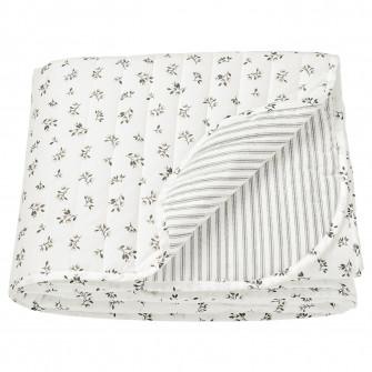 IKEA SANDLUPIN Cuvertura, alb, gri, 260x250 cm