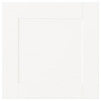 IKEA SANNIDAL Usa, alb, 40x40 cm