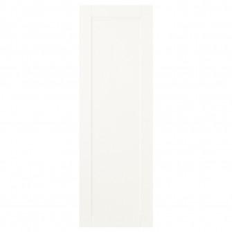 IKEA SANNIDAL Usa cu balamale, alb, 40x120 cm