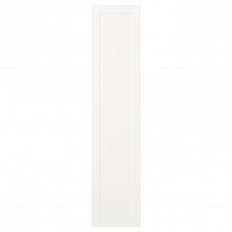 IKEA SANNIDAL Usa cu balamale, alb, 40x180 cm