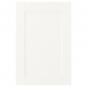 IKEA SANNIDAL Usa cu balamale, alb, 40x60 cm