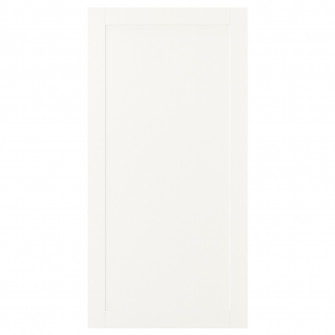IKEA SANNIDAL Usa cu balamale, alb, 60x120 cm